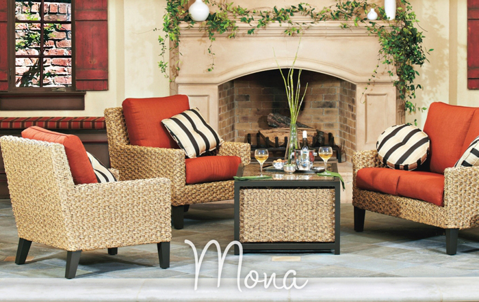 Mona All Weather Wicker Furniture Collection
