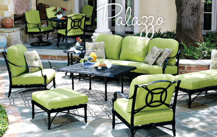 Palazzo Cast Aluminum Furniture Collection