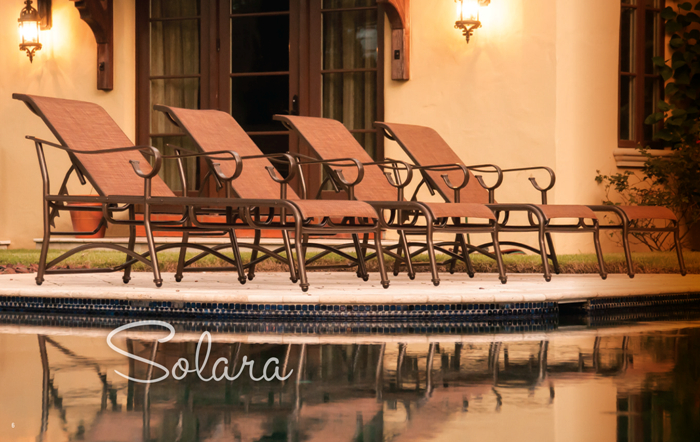 Solara Pool Furniture Collection