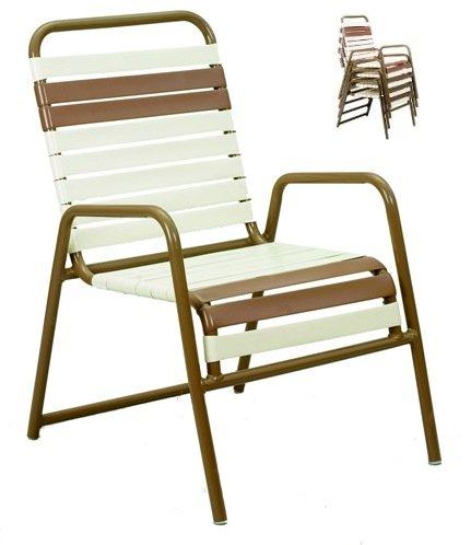 Model 11110 Vinyl Strap Club Chair