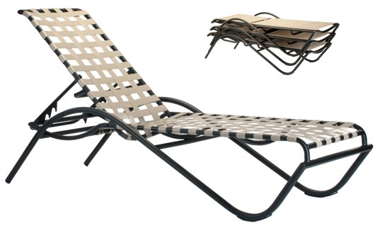 Model 21202CW Crossweave Chaise Lounge