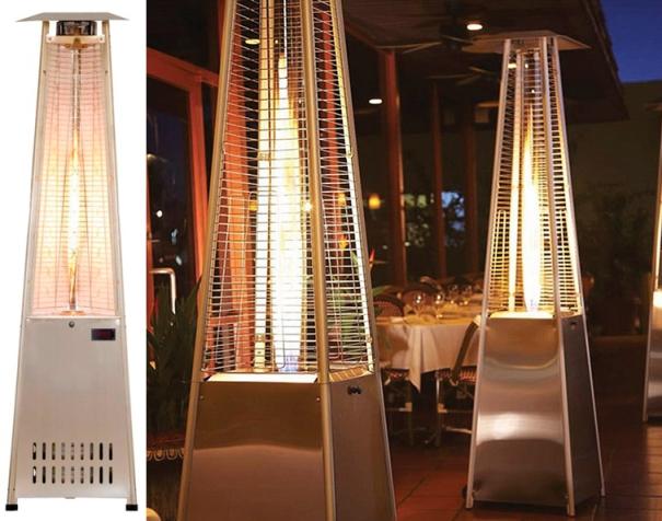 Model D92SS Tower Of Fire Heater