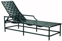 Model 17208 Crossweave Chaise Lounge w/arms
