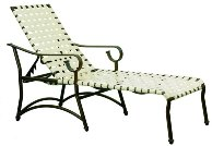 Model 61202CW Crossweave Chaise Lounge