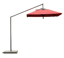 Model FL9CLSQ 9' Square Cantilever Umbrella