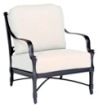 Model W4N0406 Palazzo Cast Aluminum Deep Seating Chair