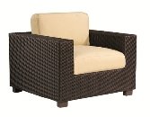 Model WCS511001 All Weather Wicker Lounge Chair