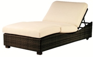 Model WCS511061 All Weather Wicker Double Chaise Lounge