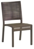 Model WCS601511 All Weather Wicker Dining Chair