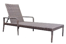 Model WCS533081 All Weather Wicker Chaise Lounge