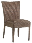 Model WCS593811 All Weather Wicker Padded Dining Chair