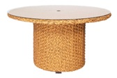 Model WCS520702 All Weather Wicker 54in Round Dining Table